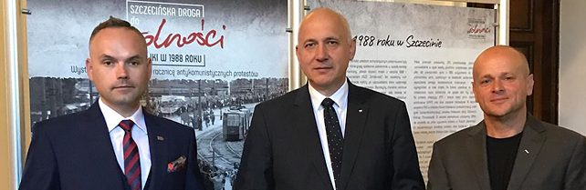 O Bohaterach Sierpnia '88 w Warszawie